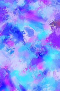 Wallpaper Blue And Purple Pink