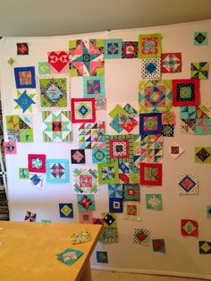 Happy Appliquer: Arranging the Gypsy Wife Quilt