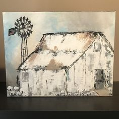 What is Your Painting Style? How do you find your own painting style? What is your painting style? Farmhouse Paintings, Farm Paintings, Country Paintings, Scenery Paintings, Canvas Paintings, Cotton Painting, Diy Painting, Fence Painting, Painting Studio