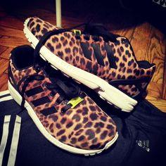 scarpe adidas zx flux leopard
