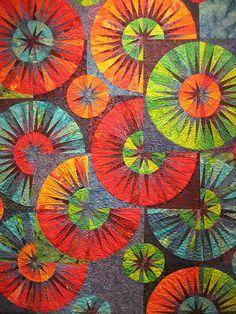 71-Osborne ~ Gorgeous Raindrops quilt!