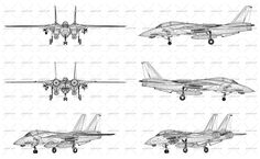 Wireframe design of modern combat turbojet fighter aircraft