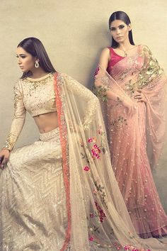 Sania Maskatiya, Ara, 2015 Photography by NFK Models: Rubbab Ali & Amna Babar Styling: Maha Burney Hair & Makeup: Natasha Salon