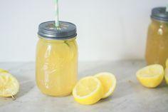 Dollyjessy blog lifestyle mode et cuisine: citronnade limonade au citron maison bio - facile et rapide Mason Jar