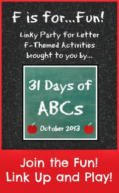 The Good Long Road: 31 Days of ABCs - Sensory Explorations for the Letter F Letters For Kids, Preschool Letters, Alphabet Activities, Fun Activities For Kids, Literacy Activities, Alphabet Art, Preschool Prep, Preschool Learning, Early Learning