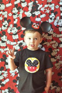Mouseketeer Photo Booth
