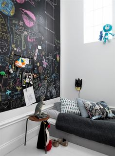 Spooky Home, myidealhome: kids' creativity needs space (via...