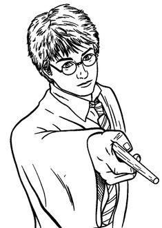 14 mejores imágenes de Dibujos para colorear Harry Potter