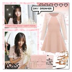 """""""Back To Pink In Spring // Yoins"""" by angelstylee ❤ liked on Polyvore featuring Retrò, yoins, yoinscollection and loveyoins"""