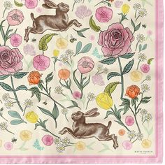 Hello sweet summer 🌸💕🌸💕🌸💕 It is the time of year when nature explodes it's magic, & it's no wonder the wildlife delights in its abundance! 🌳 ⠀⠀⠀⠀⠀⠀⠀⠀⠀⠀⠀⠀  On our 'Jumping Hares & Roses silk scarf' the Hares celebrate with dancing through wildflower meadows, capturing the joy of the season...creating a truly luxurious peice of wearable summer magic ✨ I hope that you are all enjoying the summer sweetness so far! 🌸💕🌸   www.katiecraven.co.uk    #KatieCraven #silkscarf Scarf Design, Abundance, Wild Flowers, Dancing, Wildlife, Roses, Joy, Magic, Seasons