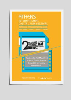 Poster for the Athens International Digital Film Festival.