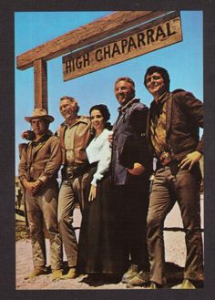 The High Chaparral series, starring Leif Errickson, Henry Darrow, Cameron Mitchell, Linda Cristal & Mark Slade