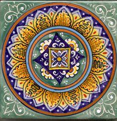 Italian Ceramics Tiles Italian Deruta Tiles For kitchen backsplash over stove?