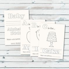 baby shower abc book template get your artsy and even not so artsy