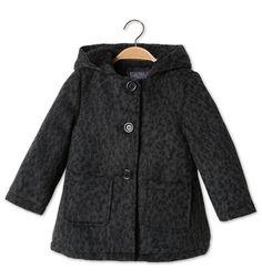 Manteau dans noir / gris