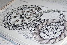 Zentangle a day: A Tangle in Time