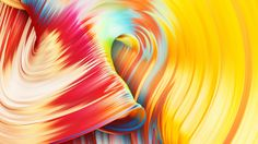 Gorgeous CGI Paint Swirls in Mesmerizing Animations