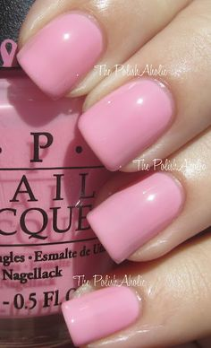 OPI I Think in Pink (for Breast Cancer Awareness)