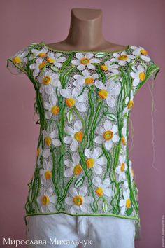 Fabulous Crochet a Little Black Crochet Dress Ideas. Georgeous Crochet a Little Black Crochet Dress Ideas. Freeform Crochet, Irish Crochet, Easy Crochet, Crochet Top, Crochet Shirt, Crochet Jacket, Crochet Cardigan, Crochet Designs, Crochet Patterns