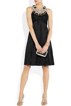Temperley London|Embellished silk dress|NET-A-PORTER.COM