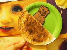 """Thank you God for the groundhog"" holiday, craft projects, toddler"