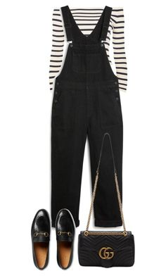 """""""Untitled #4421"""" by theeuropeancloset ❤ liked on Polyvore featuring Topshop, Monki and Gucci"""