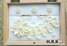 02ーchoco 様専用のリングピローリングケースとなりますのでその他の方のご注文はお断り無効とさせて頂きますのでご了承くださいませ。スカイブルーにて製作致します。 Japanese Wedding, Ring Pillows, Ribbon Art, Fabric Flowers, Cake Toppers, Diy And Crafts, Frame, Rings, Weddings