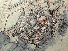 Space PilotVirnard Magpantay http://www.virnard.com/sketches/2016/2/25/space-pilot