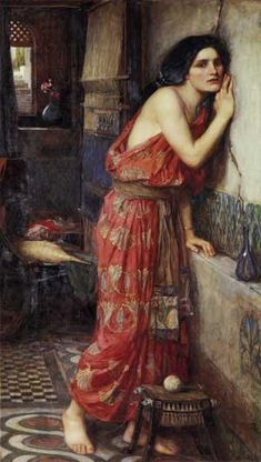 Thisbé, John William Waterhouse