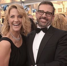 Steve Carell with wife Nancy Fred Armisen, Steve Carell, That's What She Said, Celebs, Celebrities, Best Actor, Comedy, Earth, Actors