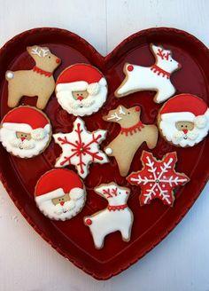 Xocolat and co: Galletas decoradas Navidad / Christmas cookies