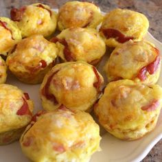 Ham and Cheese Biscuit Cups for our mother's day brunch!