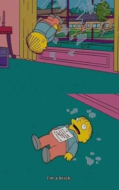 """30 Times Ralph Wiggum Charmed Us With His Innocent Stupidity - Funny memes that """"GET IT"""" and want you to too. Get the latest funniest memes and keep up what is going on in the meme-o-sphere. Memes Simpsons, The Simpsons, Vaporwave, Stupid Funny Memes, Hilarious, Funny Images, Funny Pictures, Ralph Wiggum, Graffiti Doodles"""