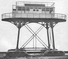 The Brighton and Rottingdean Seashore Electric Railway was a unique coastline railway in Brighton, England