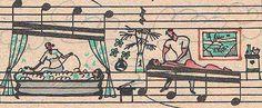 O cotidiano registrado em partituras por artistas nada convencionais.
