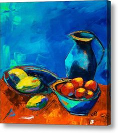 Fruit Palette Acrylic Print By Elise Palmigiani