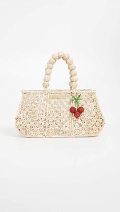 Mercedes Salazar Flor de Nudillo Blanquita Bag