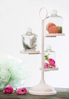 Effortlessly Enticing Dessert Stand - White, Wedding, French / Victorian, Better, Solid, Hostess, Top Rated