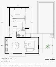 Planta T2 70m2   Pesquisa Google. House PlansBlueprints For HomesHouse ...