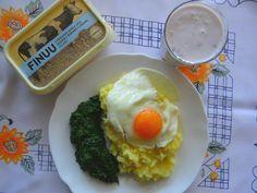 Sobotni obiad - pyszne ziemniaczki z Finuu i jajko usmażone na Finuu. 👍🆗#Finuu #bezkonserwantow #pyszniebozfinuu #naturalneismaczne #streetcom