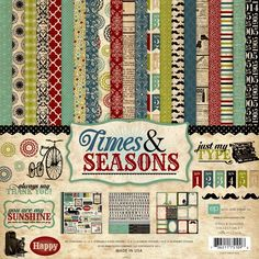 Echo Park Paper Times and Seasons Collection Kit ** Read more  at the image link.Note:It is affiliate link to Amazon.