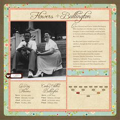 I would LOVE to make a genealogy scrapbook like this!!!