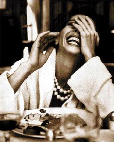 .She is sophisticated but not trendy, she can let loose with a hearty laugh which shows her self-assurance