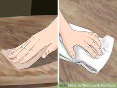 Image titled Whitewash Furniture Step 12
