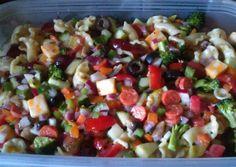 Garden supreme pasta salad Recipe -  How are you today? How about making Garden supreme pasta salad?