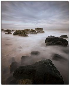long exposure of the sea Nature Photography Tips, Photography Filters, Photography Challenge, Types Of Photography, Photography Projects, Creative Photography, Landscape Photography, Exposure Photography, Long Exposure