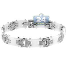 14K White Gold Hamsa Hand of God with Star of David Charm Pendant Avital /& Co