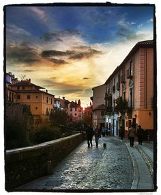 How many times i walked this road. My heart will never be the same <3 Granada