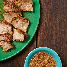 Pork Tenderloin with spice rub. Get the recipe!