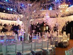 Winter Wonderland Wedding.